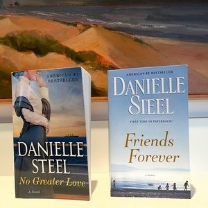 Danielle Steel books - paperback